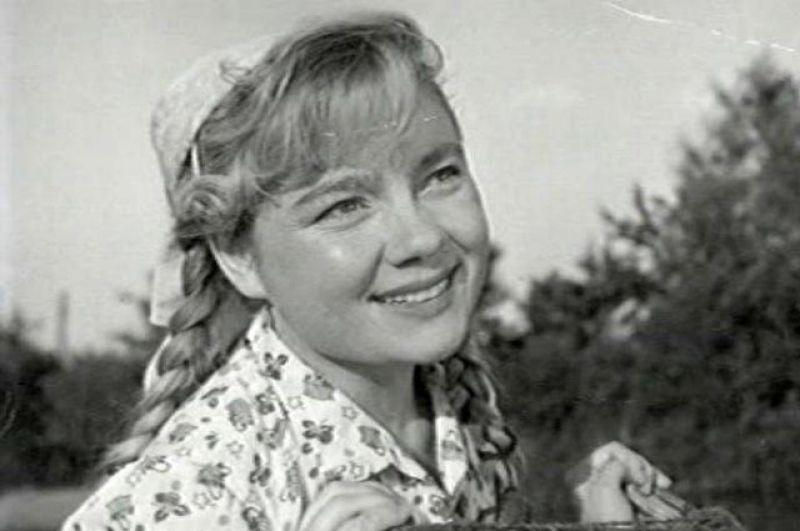 Нина Дорошина в фильме «Артист из Кохановки», 1961 год.