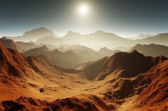 Россия выберет район посадки первой миссии на Марс