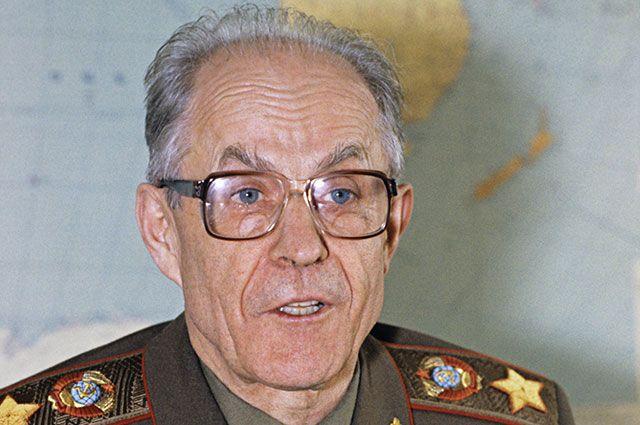 Сергей Ахромеев, 1989 г.