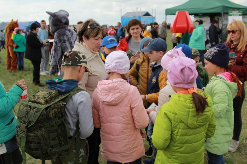 Фестиваль экологического туризма «Воспетая степь» стал доброй и красочной традицией.