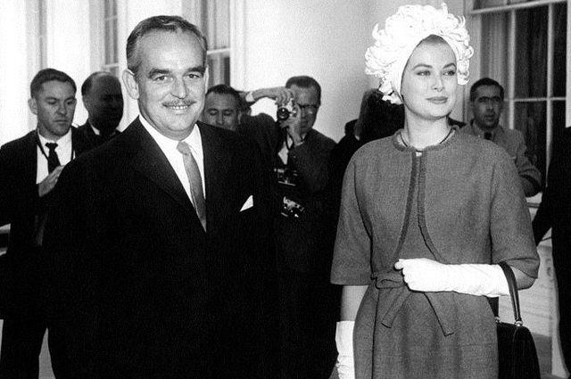 Ренье III и Грейс Келли. 1961 год.