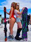 Яркое мероприятие ежегодно привлекает сотни любителей горнолыжного спорта.