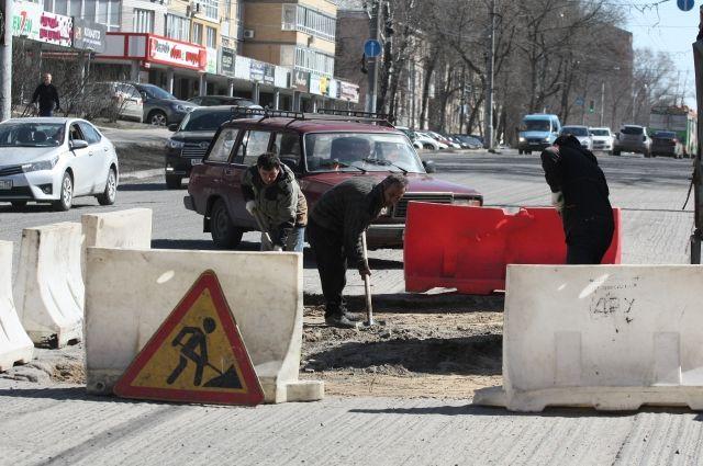До конца апреля ремонт начнется еще на трех улицах Нижнего Новгорода.