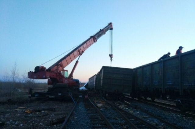 ВБашкирии опрокинулся вагон судобрением