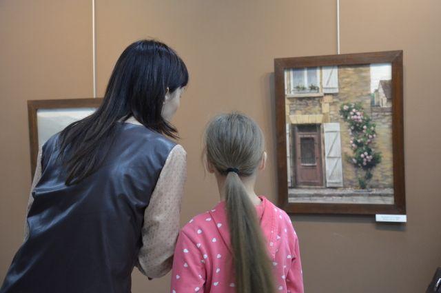 Выставки художника пользуются популярностью.