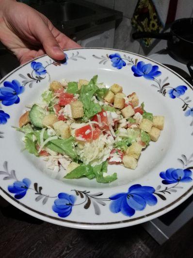 Вячеслав Кондаков. Я готовлю самый популярный салат нашего времени – «Цезарь»! Он легкий и невероятно вкусный!