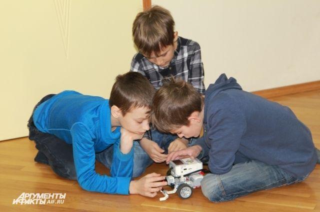ВКрасноярске школьники собрали копии гоночных машин