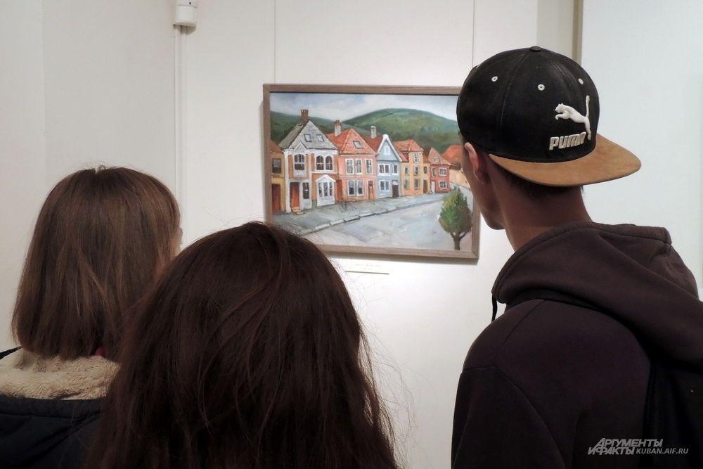 В «Библионочь» двери краевого художественного музея имени Ф. А. Коваленко тоже были открыты для всех желающих.