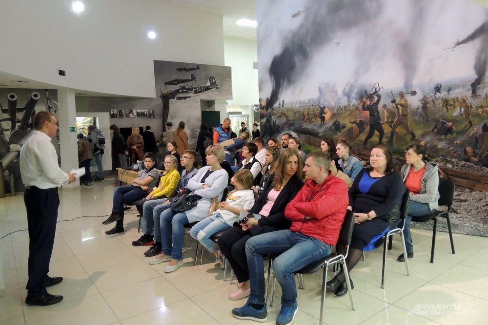 В музее-заповеднике Фелицына прошла лекция, приуроченная к 75-летию освобождения Краснодарского края от немецко-фашистских захватчиков.