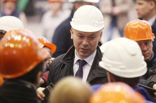 Врио новосибирского губернатора хочет участвовать ввыборах руководителя региона