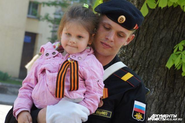 В Калининградской области начнут раздавать Георгиевские ленточки.