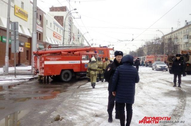 Красный Крест окажет помощь пострадавшим при пожаре в «Зимней Вишне».