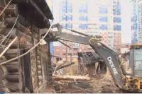 В «Кемерово-Сити» снесли ветхие бараки.