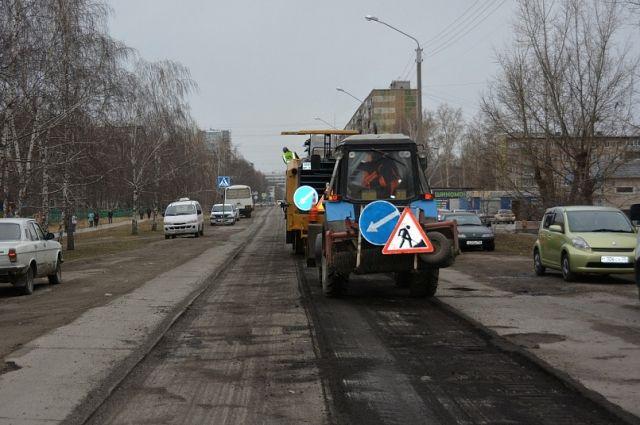Ремонт дорог поБКД начался вБарнауле