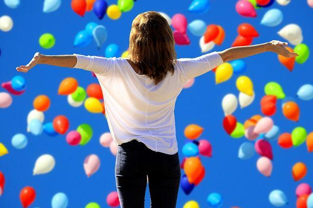 По задумке организаторов  шарики  «засияют теплом сердец».