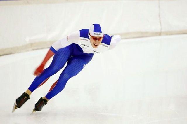 Виктор Муштаков - надежда алтайского конькобежного спорта.