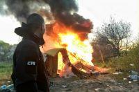 Сожжение активистами лагеря ромов в Киеве: ромы рассказали свою версию