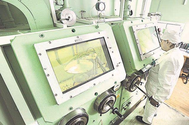 Здесь производят радиоизотопные генераторы весом всего 10-15кг, которые можно перевозить любым транспортом.