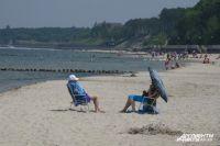 Широкие пляжи на Балтике - редкость.