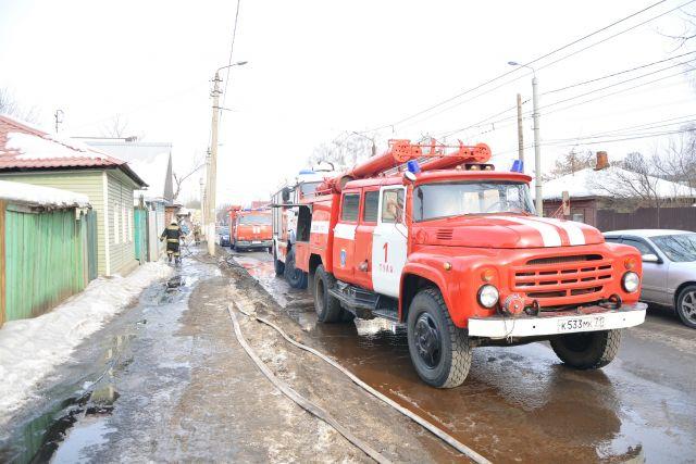 Впожаре вТуле молодые люди спасли инвалида