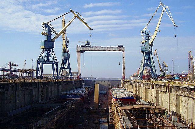 Имущество Николаевского судостроительного реализуют зазарплатные долги