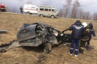 Фото с место аварии.