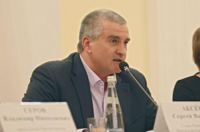 «Чушь какая-то»: Аксенов отреагировал нанамерение столицы Украины закрыть порта для судовРФ