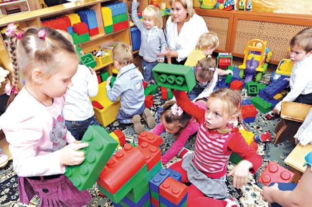 Дети не могут дождаться своей очереди в детский сад.