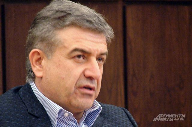 Врио премьера Армении объяснил, почему сорвались переговоры соппозицией