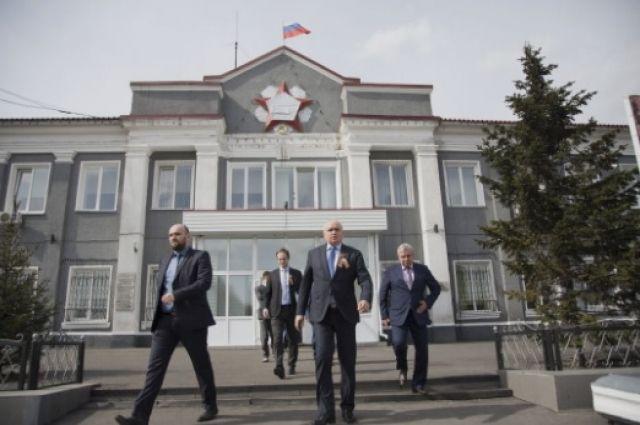 Врио губернатора посетил Кисилевск с рабочим визитом.
