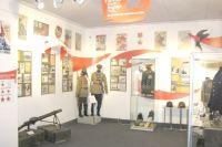 Посетители узнают всё о Красной армии.