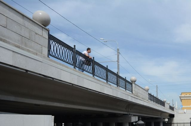 Мост на пр. Ленина в Барнауле