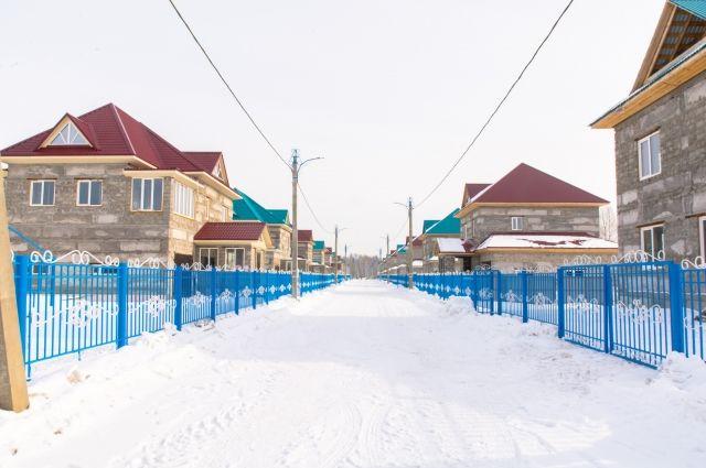 В коттеджном посёлке запланировано построить 96 домов для заводчан.