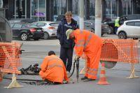 Пока объемы дорожного ремонта в Новосибирске меньше, чем в прошлом году.