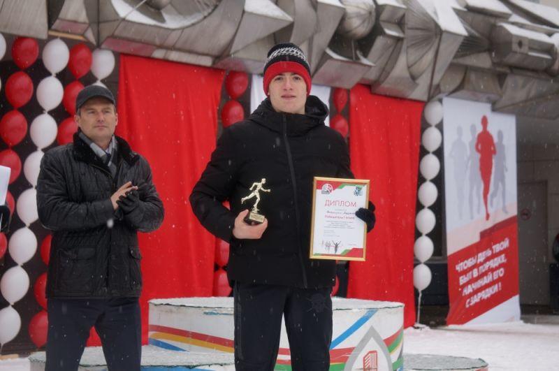 Участники, показавшие лучший результат на дистанции, получили отдельные награды.