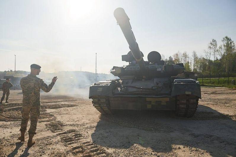 Николаевские дисантники вместе с танковым взводом участвуют в международных учениях Combined Resolve X.