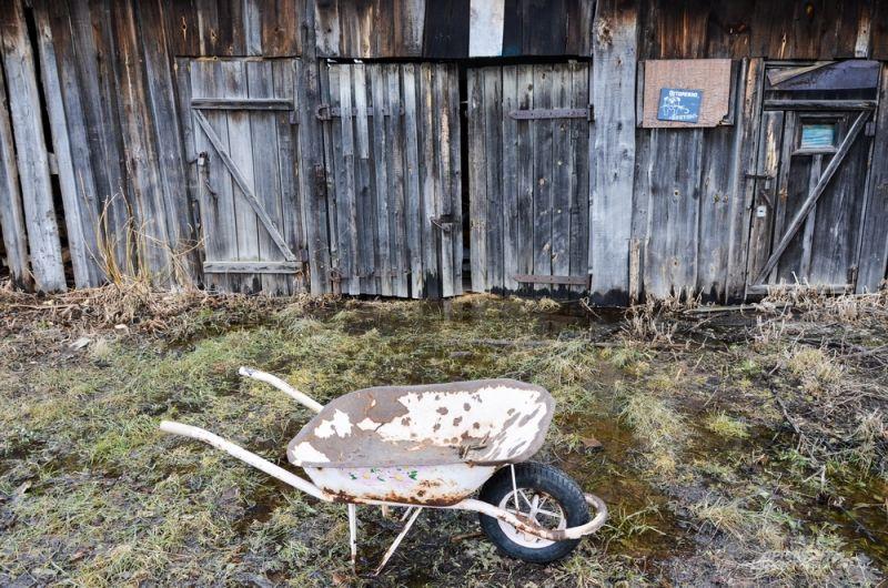16-летняя Алена после школы в зимний период каждый раз натаскивает дрова в дом.