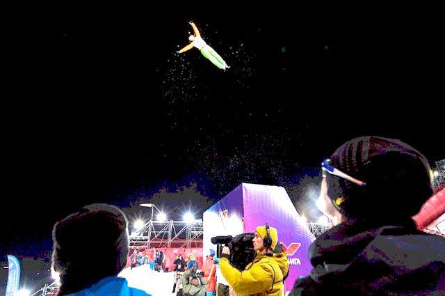 Фристайл - один из самых зрелищных видов спорта.