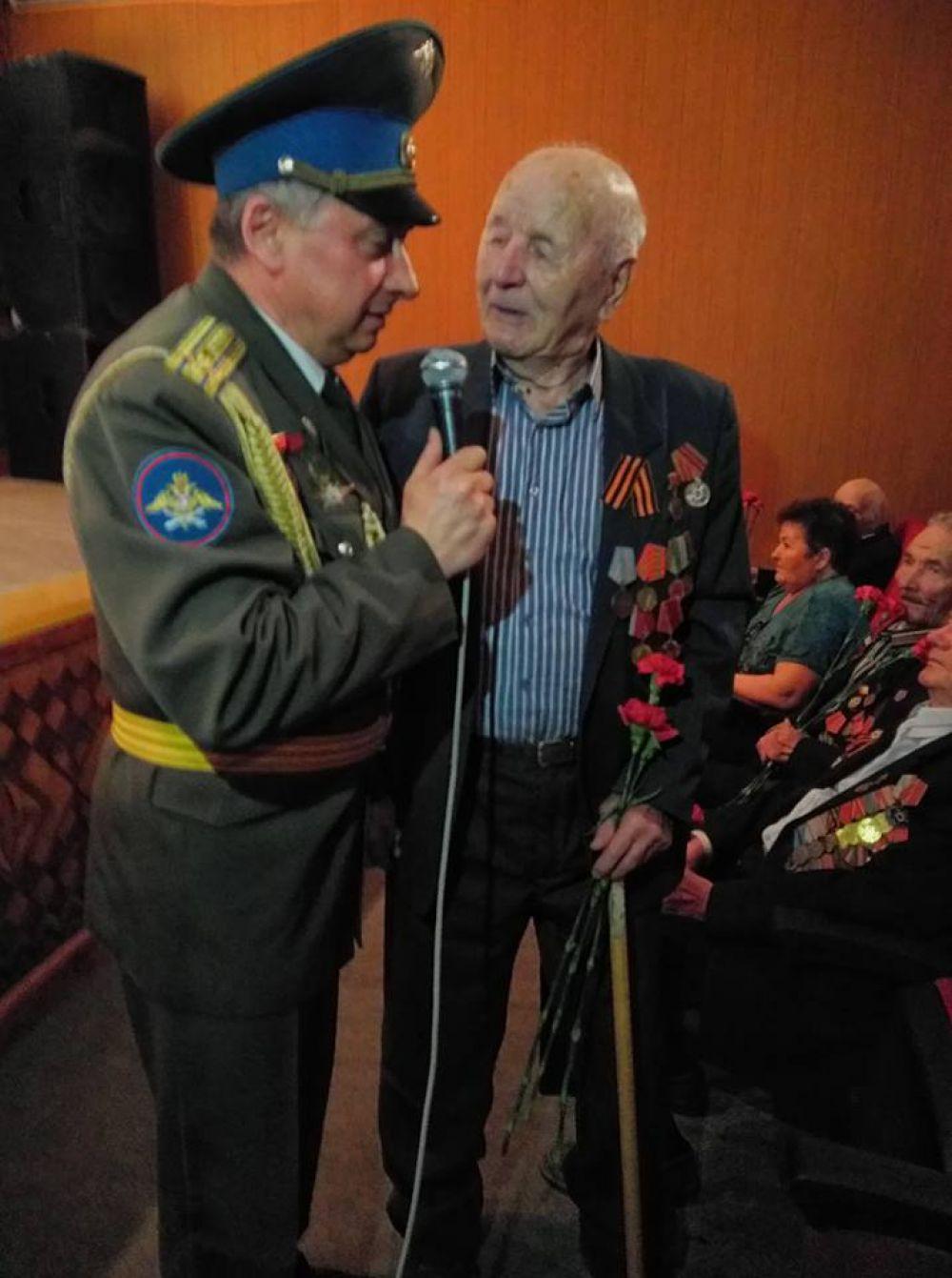 Вспоминает ветеран войны.