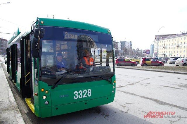 Троллейбусы попали в ДТП в один день.