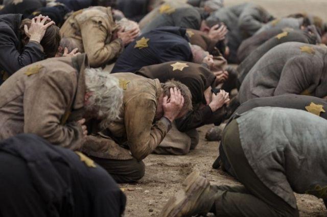 Кадр из фильма «Собибор», который никого не оставит равнодушным.