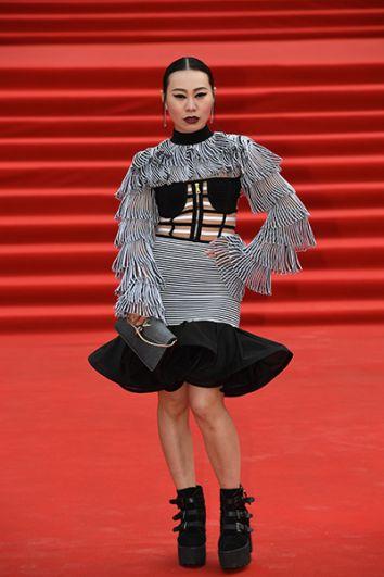 Китайская актриса Ян Гэ.