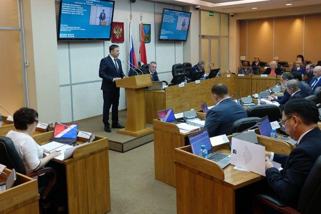 Краевые депутаты подвели итоги работы в 2017 году.