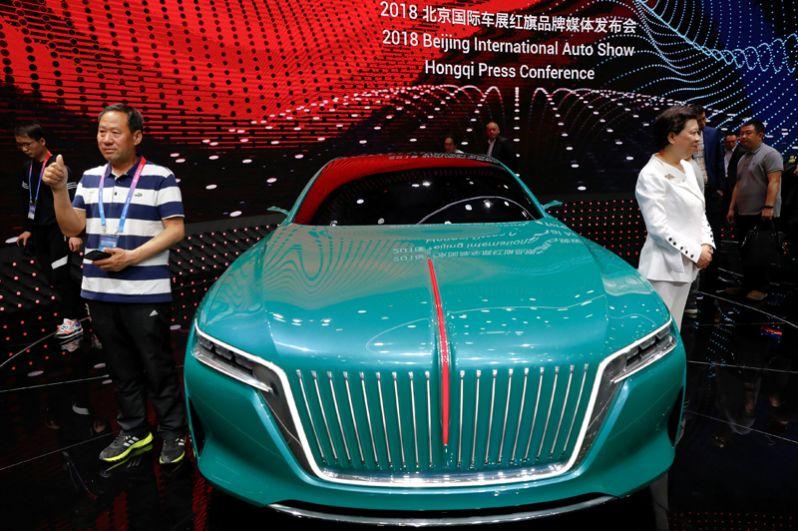 Концепт-кар марки Hongqi производителя FAW Group.