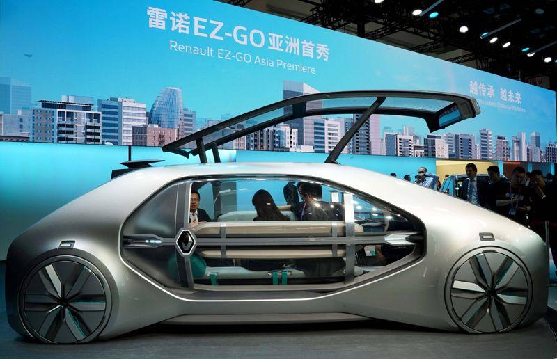 Концепт Renault's EZ-GO.