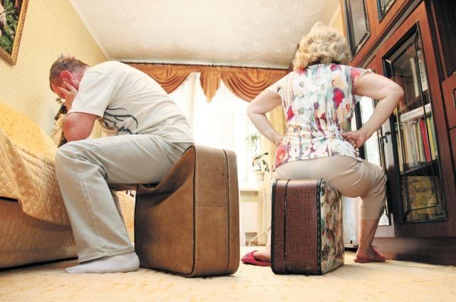 Развод формальный и развод психологический - разные вещи.