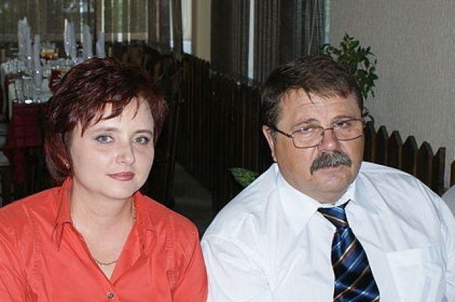 Александр Богомолов с супругой.