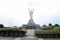 В Киеве загорелся Музей истории Украины во Второй мировой войне