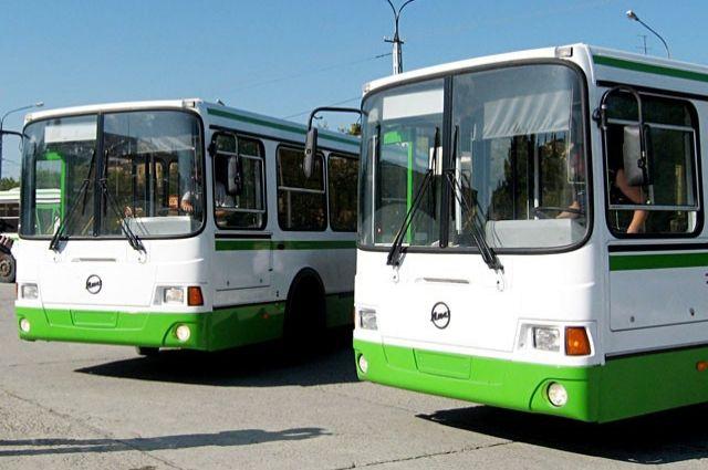 В Оренбурге первые садоводы отправились на дачи на автобусах.