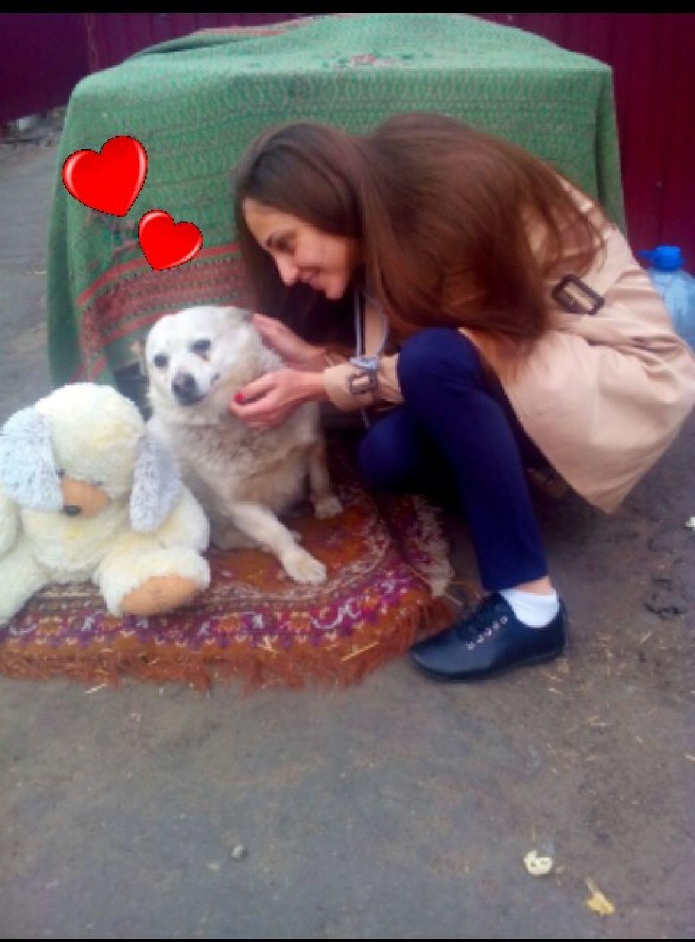 Маргарита Мальцева и Шарик